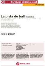 La pista de ball-Da Camera (peces soltes en pdf)-Partitures Bàsic