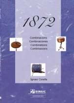 1872 combinations for snare, bass-drum and hi-hat-Percussion Studies-Music Schools and Conservatoires Several Levels