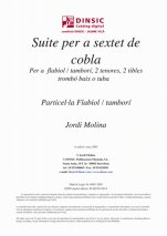 Suite per a sextet de cobla-Music for Cobla Instruments (digital PDF copy)-Traditional Music Catalonia
