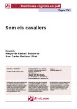 Som els cavallers-Esplai XXI (peces soltes en pdf)-Music Schools and Conservatoires Elementary Level-Music in General Education Primary School-Music in General Education Secondary School-Scores Elementary