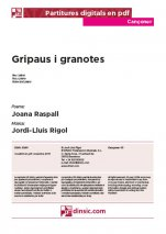 Gripaus i granotes-Cançoner (separate PDF pieces)-Scores Elementary