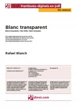 Blanc transparent-Da Camera (peces soltes en pdf)-Escoles de Música i Conservatoris Grau Elemental-Partitures Bàsic