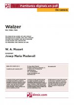 Walzer-Da Camera (separate PDF pieces)-Music Schools and Conservatoires Elementary Level-Scores Elementary
