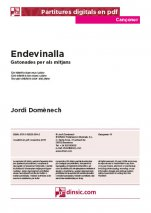 Endevinalla-Cançoner (separate PDF pieces)-Music Schools and Conservatoires Elementary Level-Scores Elementary