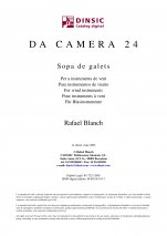 Da Camera 24: Sopa de galets-Da Camera (digital PDF copy)-Scores Elementary