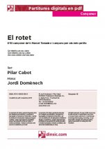 El rotet-Cançoner (separate PDF pieces)-Music Schools and Conservatoires Elementary Level-Scores Elementary