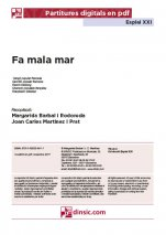 Fa mala mar-Esplai XXI (peces soltes en pdf)-Music Schools and Conservatoires Elementary Level-Music in General Education Primary School-Music in General Education Secondary School-Scores Elementary