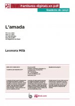 L'amada-Quaderns de cançó (peces soltes en pdf)-Music Schools and Conservatoires Advanced Level-Scores Advanced