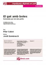 El gat amb botes-Cançoner (separate PDF pieces)-Music Schools and Conservatoires Elementary Level-Scores Elementary
