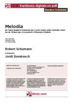 Melodia, 2-Quadern Schumann (separate PDF pieces)-Music Schools and Conservatoires Elementary Level-Scores Elementary