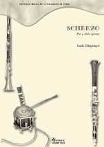 Scherzo-Music for Cobla Instruments (paper copy)-Music Schools and Conservatoires Elementary Level