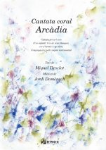 Cantata Coral Arcàdia (Choir and piano score)-Música vocal (paper copy)-Scores Elementary-Scores Intermediate