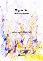 Bagatel·les per a joves pianistes-Instrumental Music (paper copy)-Music Schools and Conservatoires Intermediate Level-Scores Intermediate