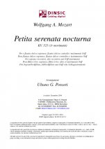 Petita serenata nocturna / KV 525 (1r moviment)-Instrumental Music (digital PDF copy)-Scores Elementary