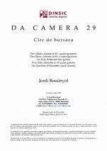Da Camera 29: Pocket Circus-Da Camera (digital PDF copy)-Scores Elementary