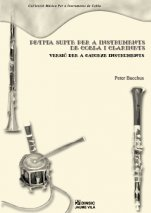 Little suite for cobla instruments and clarinets - Version for fourteen instruments-Music for Cobla Instruments (paper copy)-Music Schools and Conservatoires Intermediate Level-Scores Intermediate