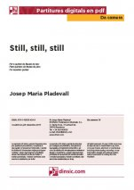 Still, still, still-Da Camera (separate PDF pieces)-Scores Elementary