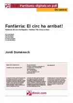 Fanfàrria. El circ ha arribat!-Da Camera (separate PDF pieces)-Music Schools and Conservatoires Elementary Level-Scores Elementary