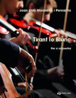 Tirant lo Blanc (PB)-Pocket Scores of Orchestral Music-Music Schools and Conservatoires Advanced Level-Scores Advanced
