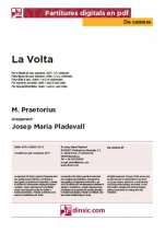 La Volta-Da Camera (separate PDF pieces)-Music Schools and Conservatoires Elementary Level-Scores Elementary
