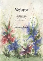 Miniatures-Chamber Music-Scores Intermediate