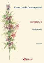 keepOUT-Piano català contemporani-Escoles de Música i Conservatoris Grau Superior-Partitures Avançat