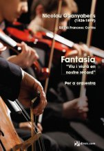 "Fantasia ""Viu i viurà en nostre record"" (PB)-Pocket Scores of Orchestral Music-Music Schools and Conservatoires Advanced Level-Music Schools and Conservatoires Intermediate Level-Scores Advanced-Scores Intermediate"