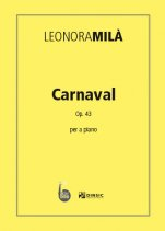 Carnaval-Col·lecció Piano Leonora Milà (paper copy)-Scores Advanced