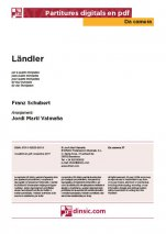 Ländler-Da Camera (separate PDF pieces)-Music Schools and Conservatoires Elementary Level-Scores Elementary