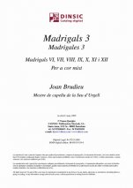 Madrigals 3-Música coral catalana (digital PDF copy)-Scores Intermediate