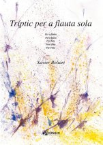 Triptych for Solo Flute-Instrumental Music (paper copy)-Scores Intermediate