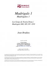 Madrigals 1-Música coral catalana (digital PDF copy)-Scores Intermediate