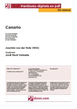 Canario-Da Camera (separate PDF pieces)-Music Schools and Conservatoires Elementary Level-Scores Elementary