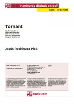 Tornant-Saxo Repertoire (separate PDF pieces)-Scores Elementary