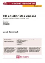 Els equilibristes xinesos-Da Camera (separate PDF pieces)-Music Schools and Conservatoires Elementary Level-Scores Elementary