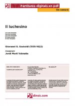 Il luchesino-Da Camera (separate PDF pieces)-Music Schools and Conservatoires Elementary Level-Scores Elementary