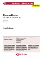 Mozartiana-2-3 veus (separate PDF pieces)-Music Schools and Conservatoires Elementary Level