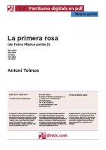 La primera rosa-Música petita (separate PDF pieces)-Music Schools and Conservatoires Intermediate Level-Scores Intermediate