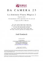 Da Camera 25: The Tiny Magic Flute 2-Da Camera (digital PDF copy)-Scores Intermediate