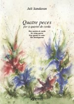 Quatre peces per a quartet de corda-Chamber Music-Scores Advanced