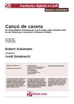 Cançó de cacera-Quadern Schumann (separate PDF pieces)-Music Schools and Conservatoires Elementary Level-Scores Elementary