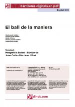 El ball de la maniera-Esplai XXI (peces soltes en pdf)-Music Schools and Conservatoires Elementary Level-Music in General Education Primary School-Music in General Education Secondary School-Scores Elementary