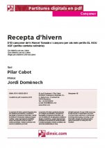 Recepta d'hivern-Cançoner (separate PDF pieces)-Music Schools and Conservatoires Elementary Level-Scores Elementary