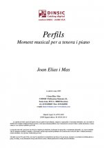 Perfils-Music for Cobla Instruments (digital PDF copy)-Traditional Music Catalonia