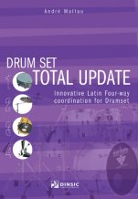 Drum set total update-Mètodes de bateria-Music Schools and Conservatoires Intermediate Level