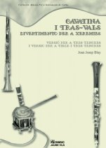 Cavatina i Tras-Vals-Music for Cobla Instruments (paper copy)-Traditional Music Catalonia