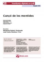 La cançó de les mentides-Esplai XXI (peces soltes en pdf)-Music Schools and Conservatoires Elementary Level-Music in General Education Primary School-Music in General Education Secondary School-Scores Elementary
