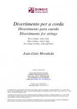 Divertimento for strings-Instrumental Music (digital PDF copy)-Scores Intermediate