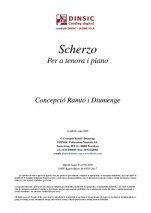 Scherzo-Music for Cobla Instruments (digital PDF copy)-Traditional Music Catalonia