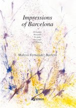 Impressions of Barcelona-Instrumental Music (paper copy)-Scores Advanced